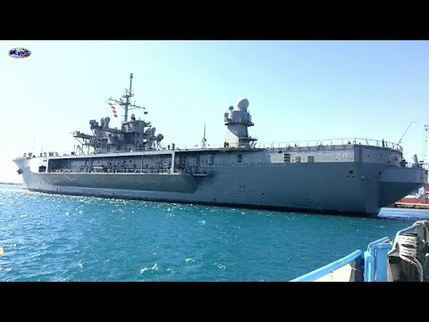 USS - MOUNT WHITNEY --  LCC 20 - new video