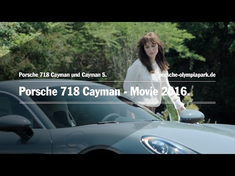 Porsche 718 Cayman - Movie 2016