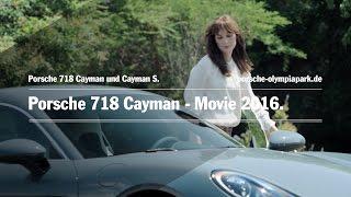 Porsche 718 Cayman - Movie 2016