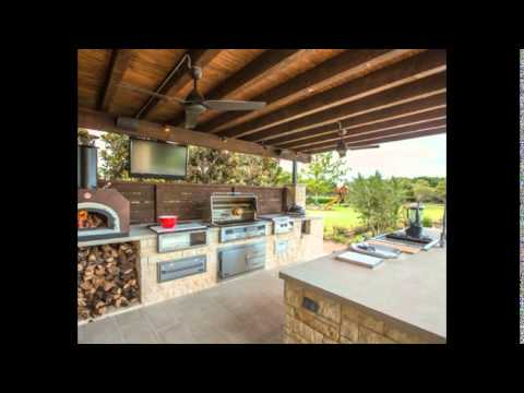 Cool indoor outdoor kitchen designs for small spaces with for Outdoor kitchen designs for small spaces
