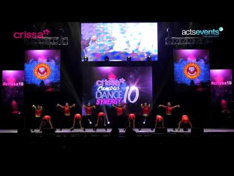 Crissa Dance Synergy 10 FINALS University of Mindanao MKF Tiaraz College Division