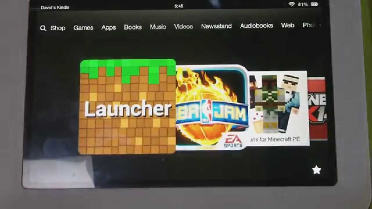 How To Get Skins On Minecraft PE (Kindle Fire HD)