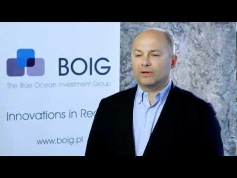 Wojciech Cieślak, prezes, The Blue Ocean Investment Group