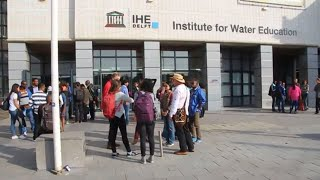 IHE Delft 💧 Former corporate video IHE Delft Institute for Water Education
