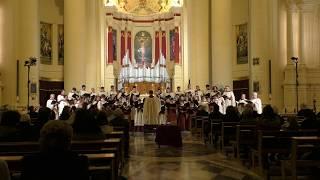 Liverpool Cathedral Choir Xewkija Concert 2019