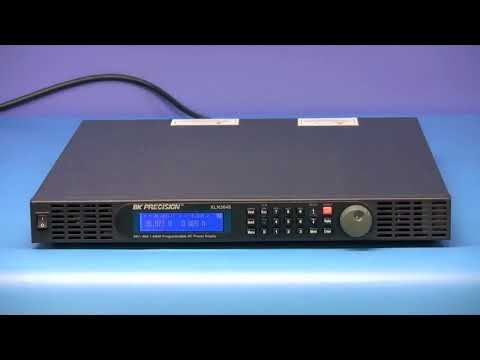 BK Precision- XLN Series 1 44 kW Programmable DC Power Supplies