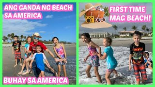 FIRST TIME MAG BEACH SA FLORIDA, USA - ANG SAYA NG MGA KIDS!!