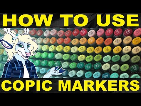 How To Use Copic Markers [Art Block #29]
