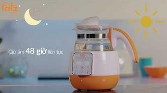 Bình đun và hâm nước pha sữa điện tử FB3502SL | Bình đun nước giữ nhiệt | FATZBABY