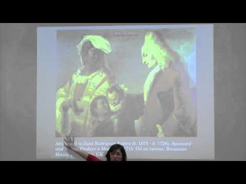 Spaniard and Indian produce a Mestizo: Casta Painting