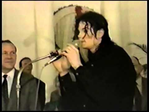 Michael Jackson - 1992 Tokyo, Japan - American Consulate Embassy Visit