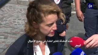 اصابة 6 جنودٍ فرنسيين بعمليةَ دهسٍ في العاصمة باريس - (9-8-2017)