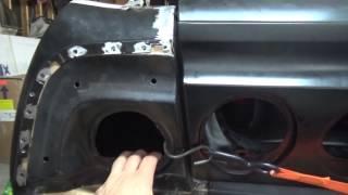 64 Impala Welding Tail Light Panel