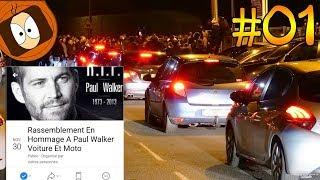 RASSEMBLEMENT PAUL WALKER : +500 AUTOS avec POG (FERRARI,LAMBORGHINI,MCLAREN)