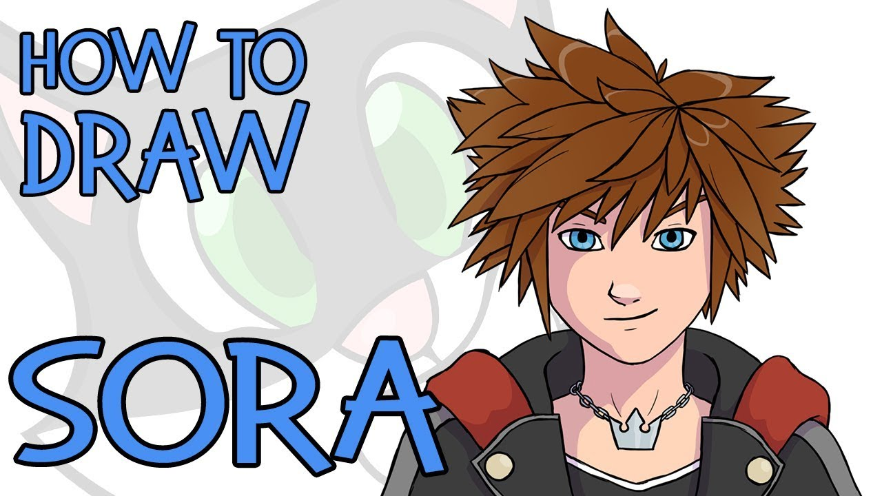 How To Draw Sora Kingdom Hearts 3 2019 Youtube