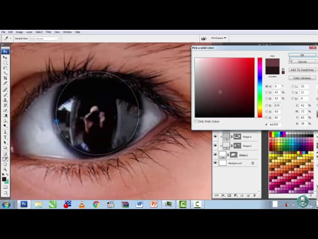 How to Make Eyes in Photoshop
