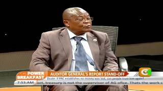 Power Breakfast: Auditor General's report stand off
