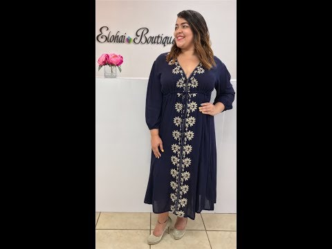 bohemian-dress-elohai-boutique- -shop-online-now!-affordable-and-fashion-plus-size-women-clothing