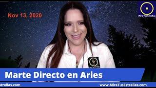 MARTE Directo en Aries Nov 13, 2020 y Cómo Afectara a Cada Signo