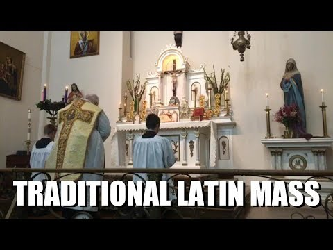 TRADITIONAL LATIN MASS: Feast Of The Immaculate Conception - Sun, Dec. 8, 2019