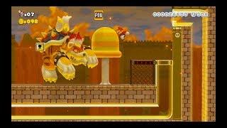 Super Mario Maker 2: Story Mode Level (Meowser Showdown!) [1080 HD]