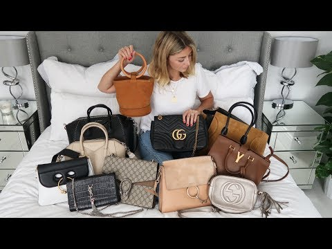 Designer Handbag Collection 2017 | Celine, Gucci, Chloe, Givenchy, YSL