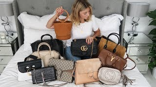 Designer Handbag Collection 2017 | Celine, Gucci, Chloe, Givenchy, YSL