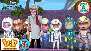 Vir: The Robot Boy | Vir vs Dangerous seven part 1 | As Seen On HungamaTV | WowKidz Action