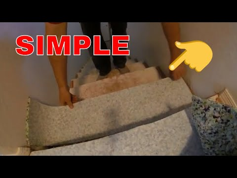 how to cut carpet pad