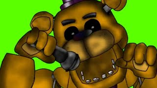 Golden Freddy dies in Roblox - FNaF BATTLE ROYALE