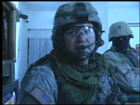 172nd Stryker Brigade in Iraq - Night Patrol in Mosul, 2005