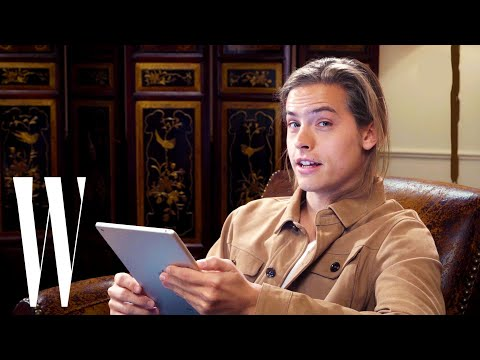 Dylan Sprouse Reads Dylan and Cole Sprouse FanFiction | W Magazine