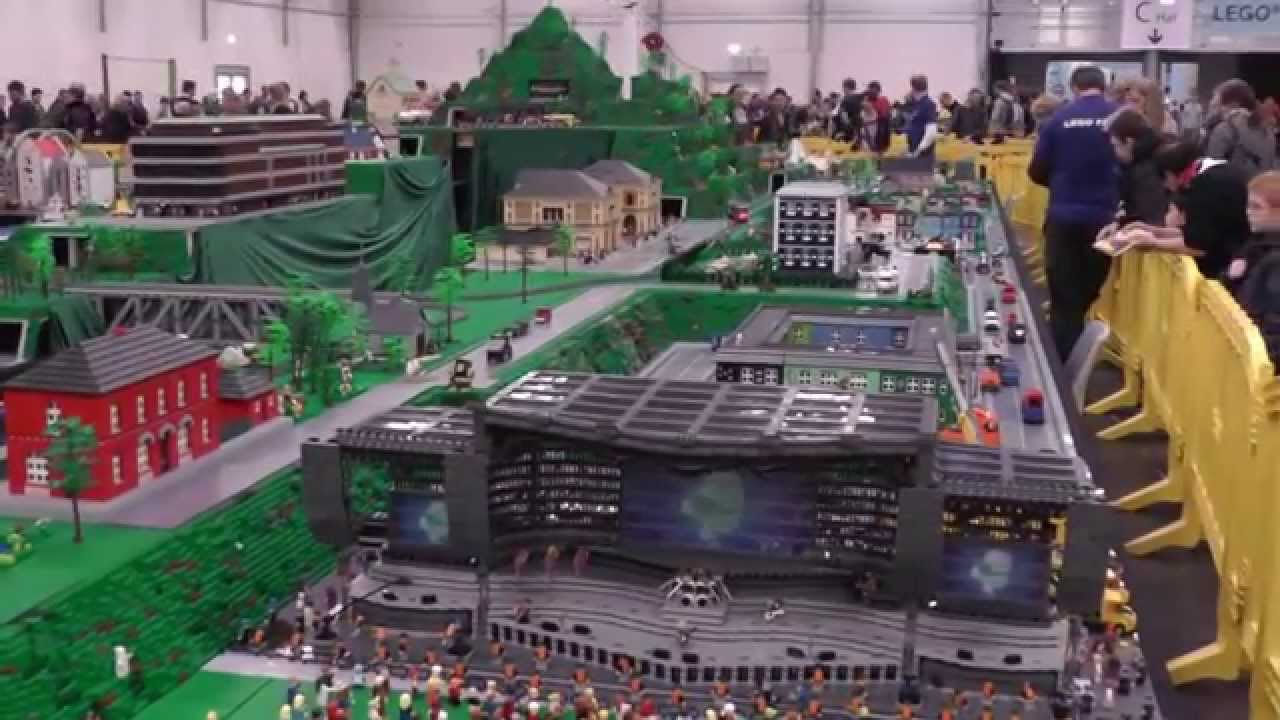 how to make a lego world