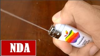 3 amazing life hacks with lighters