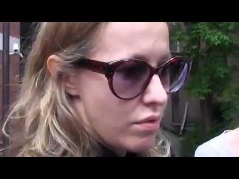 Интервью Ксении Собчак после обыска