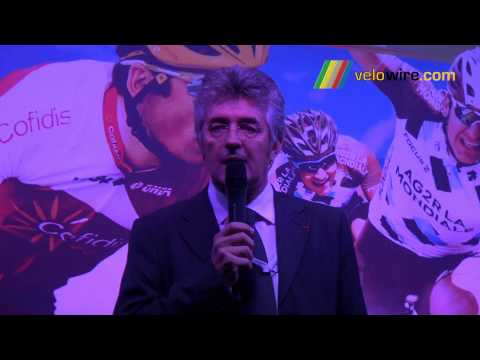 Discours Marc Madiot, président de la Ligue Nationale de Cyclisme (LNC)