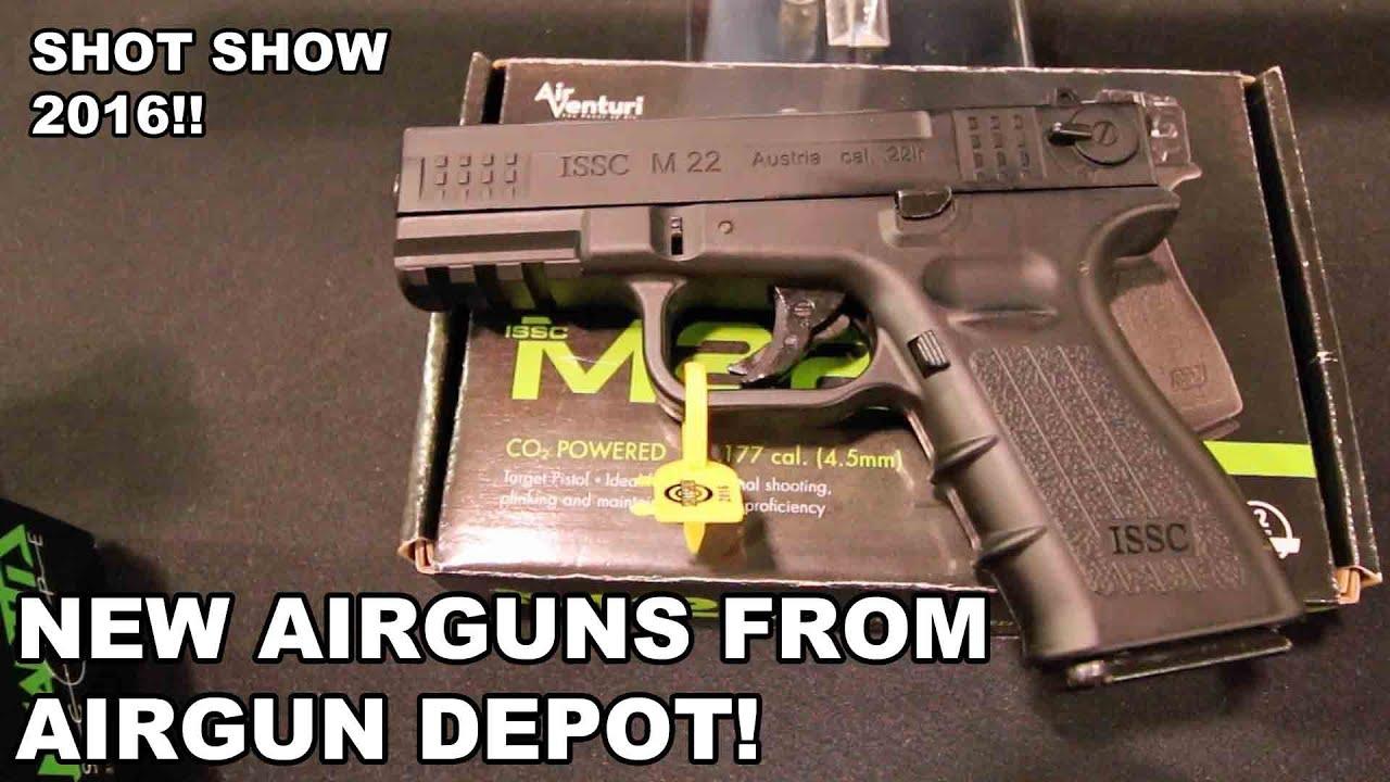 New Airguns from Airgun Depot! Russian Rifles, Austrian Handguns