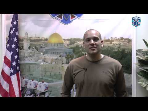 Dr Christopher Rodriguez Thanks United Hatzalah