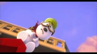 Crveni Baron - prvi klip iz filma Snupi i Carli Braun: Film o Klinjama 3D