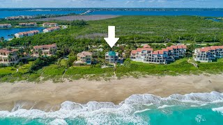 """Chateau de la Mer"", a gated beachfront vacation rental in FL, from Beach Houses in Paradise"
