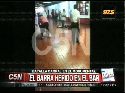 C5N - GUERRA BARRABRAVAS EN RIVER