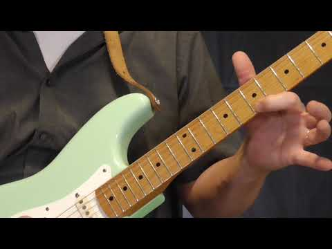 Pee Wee Crayton Guitar Lesson   Bop Hop Lick in G