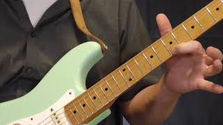 Pee Wee Crayton Guitar Lesson   Bop Hop Lick in G