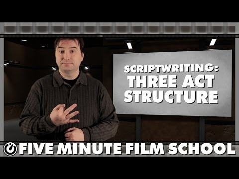 Scriptwriting: Three Act Structure - Five Minute Film School