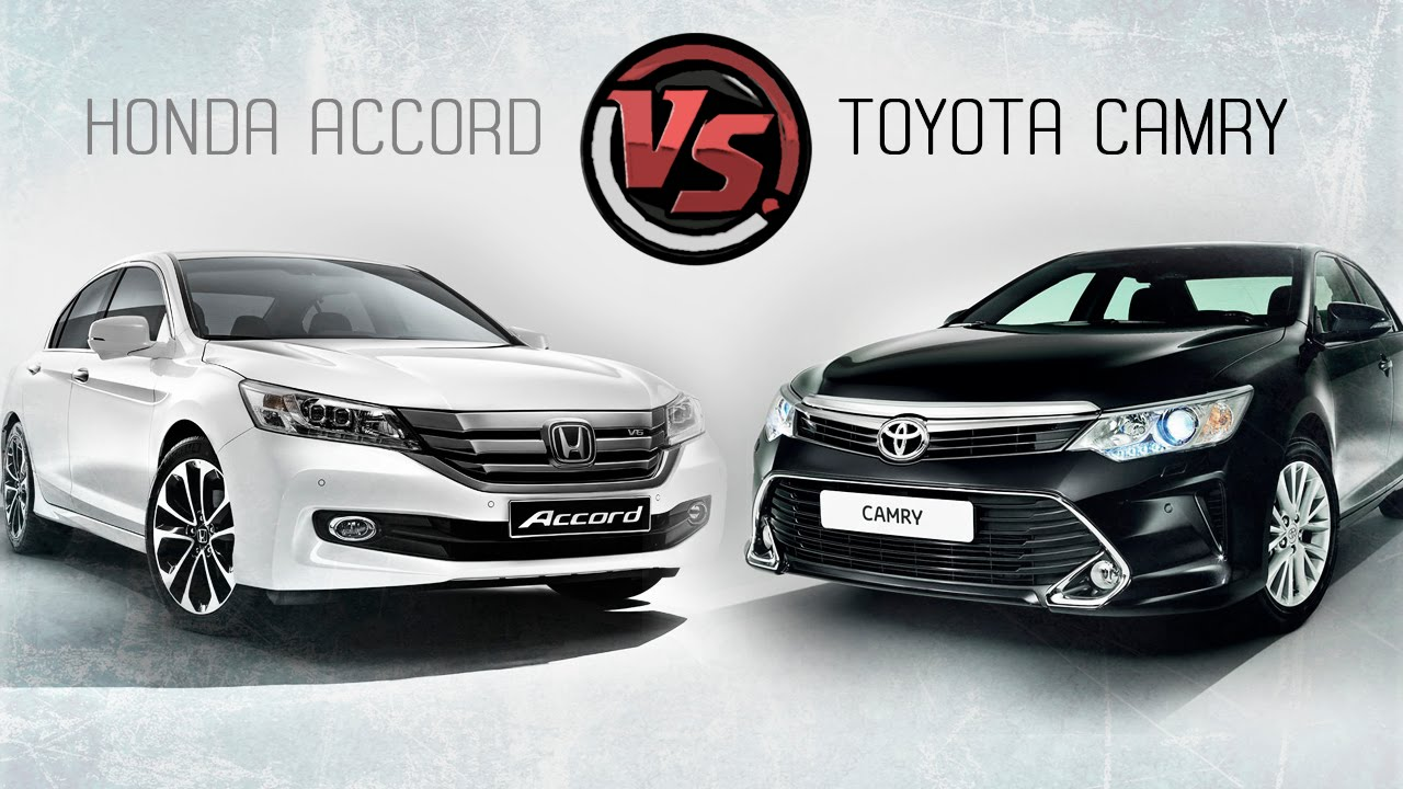 Beautiful 2hp: Toyota Camry Vs Honda Accord   YouTube