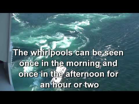 Japan Travel: Observation spots Naruto whirlpools, Boats, Pa