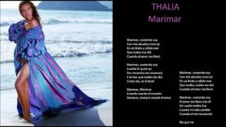 thalia marimar + lyrics