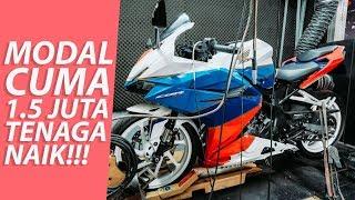 Resep Honda CBR250RR tembus 32 HP on wheel - #vlog 296