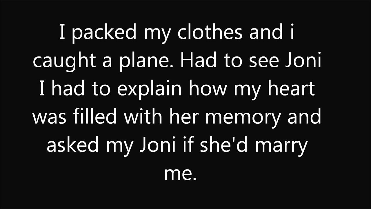 Dont cry joni lyrics