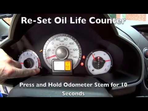 Honda Pilot Oil Change Youtube